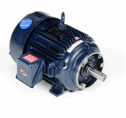 Y597 Marathon 15 hp 1800 RPM 3-Phase 254TC Frame TEFC (rigid base) 230/460V Marathon Motor