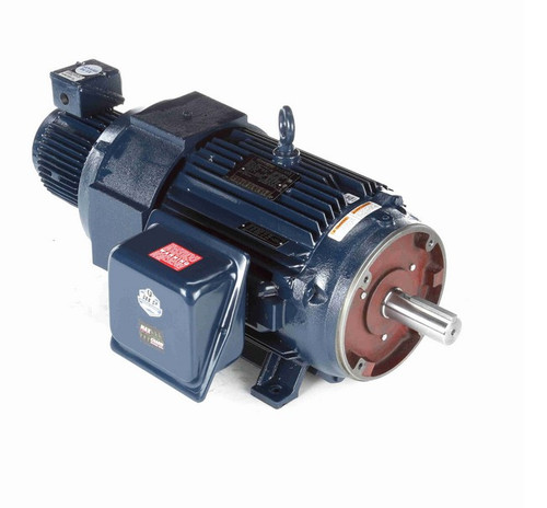 Y395 Marathon 15 hp 1200 RPM 3-Phase 284TC Frame TEBC (rigid base) 230/460V Marathon Motor