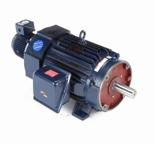 Y583 Marathon 25 hp 1200 RPM, 67.0/33.5 amps 230/460 Volts 60 Hz 3-Phase. Encoder Ready