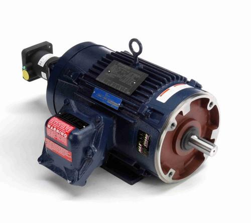Y980 Marathon 3 hp 1800 RPM 3-Phase 182TC Frame TENV (rigid base) 230/460V Marathon Motor