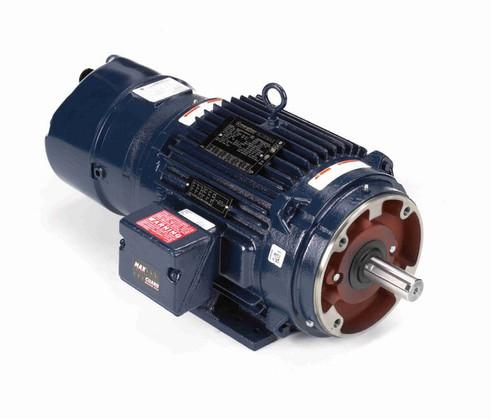 Y990 Marathon 7-1/2 hp 1800 RPM 3-Phase 213TC Frame TENV (rigid base) 230/460V Marathon Motor