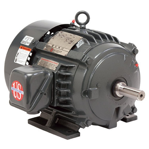 10 hp 900 RPM 284T Frame 208-230/460V TEFC Nidec Electric Motor # HD10P4E