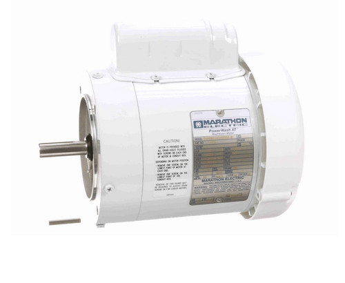 N532 Marathon 1/2 hp 3600 RPM 1-Phase  56C Frame TEFC (no base) 115/208-230V Marathon Motor