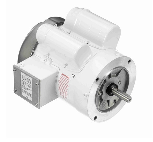 N523 Marathon 1/2 hp 1800 RPM, 8.8/4.4 amps 115/208-230 Volts 60hz. Capacitor Start