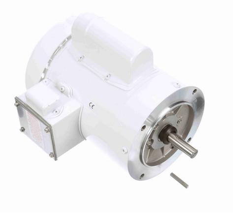 N524 Marathon 3/4 hp 3600 RPM 1-Phase  56C Frame TEFC (no base) 115/208-230V Marathon Motor