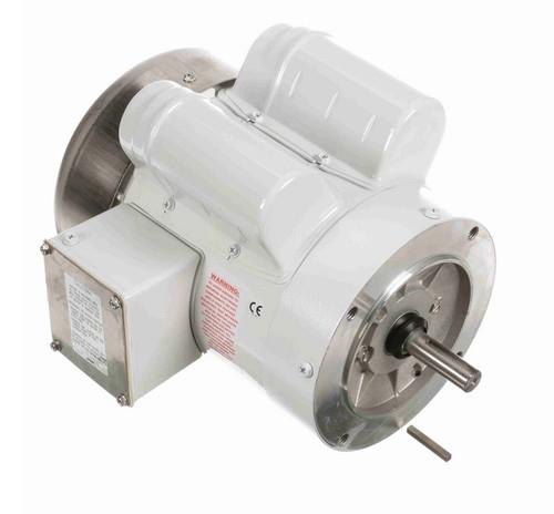 N525 Marathon 3/4 hp 1800 RPM 1-Phase  56C Frame TEFC (no base) 115/208-230V Marathon Motor