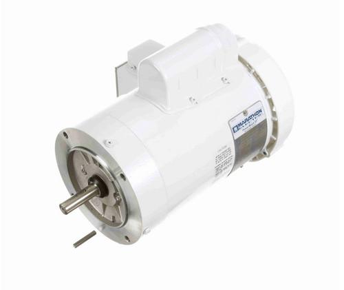 N528 Marathon 1 1/2 hp 3600 RPM 1-Phase  56C Frame TEFC (no base) 115/208-230V Marathon Motor