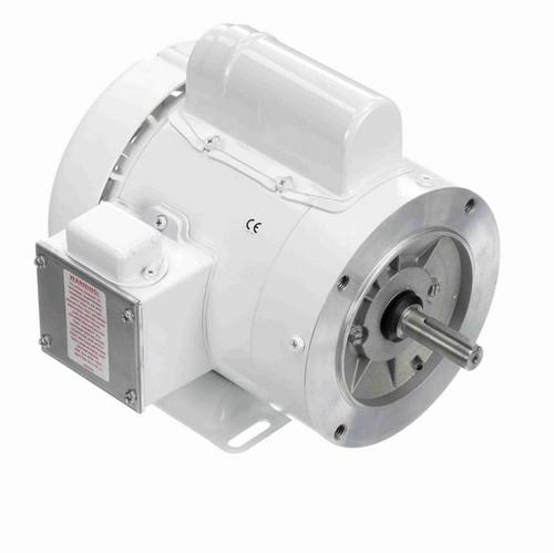 N558 Marathon 1/2 hp 3600 RPM 1-Phase  56C Frame TEFC (rigid base) 115/208-230V Marathon Motor