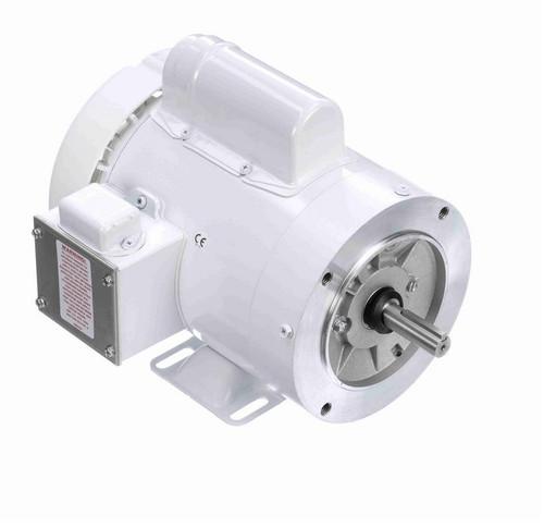 N542 Marathon 1 hp 3600 RPM 1-Phase  56C Frame TEFC (rigid base) 115/208-230V Marathon Motor