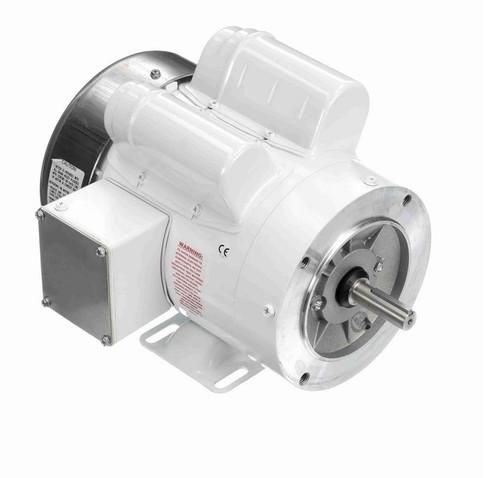 N543 Marathon 1 hp 1800 RPM 1-Phase  56C Frame TEFC (rigid base) 115/208-230V Marathon Motor