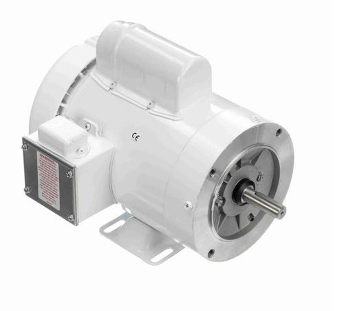N544 Marathon 1 1/2 hp 3600 RPM 1-Phase  56C Frame TEFC (rigid base) 115/208-230V Marathon Motor