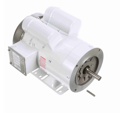 1 1/2 hp 1800 RPM 1-Phase  56C Frame TEFC (rigid base) 115/208-230V Marathon Motor # N545