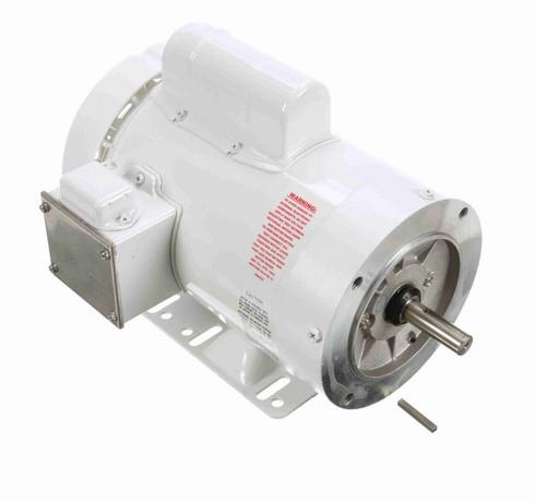 N546 Marathon 2 hp 3600 RPM 1-Phase  56C Frame TEFC (rigid base) 115/208-230V Marathon Motor