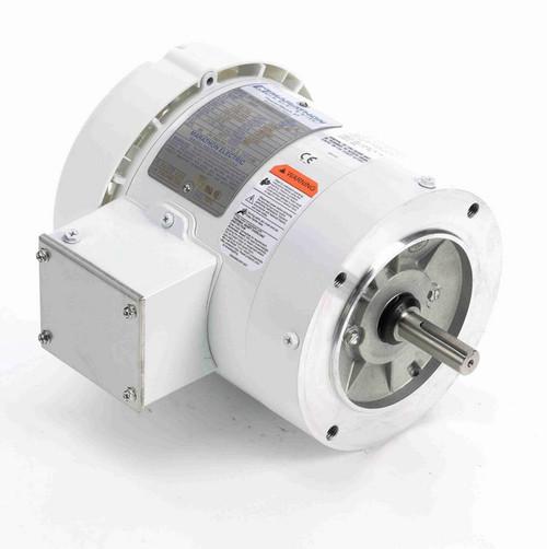 N666 Marathon 1/3 hp 1800 RPM 3-Phase  56C Frame TEFC (no base) 208-230/460V Marathon Motor