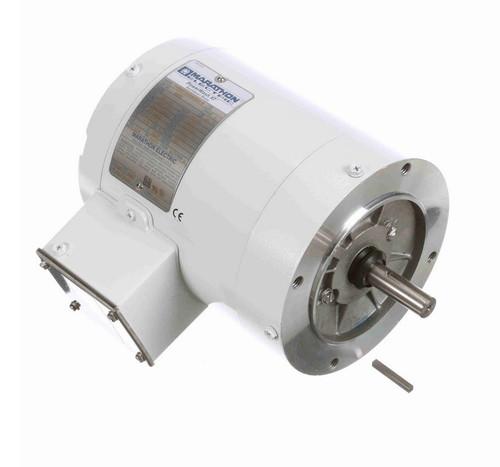 N667 Marathon 1/2 hp 3600 RPM 3-Phase  56C Frame TENV (no base) 208-230/460V Marathon Motor