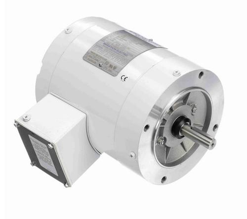 N642 Marathon 1/2 hp 1800 RPM 3-Phase  56C Frame TENV (no base) 208-230/460V Marathon Motor