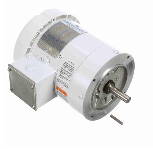 N668 Marathon 1/2 hp 1800 RPM 3-Phase  56C Frame TEFC (no base) 208-230/460V Marathon Motor