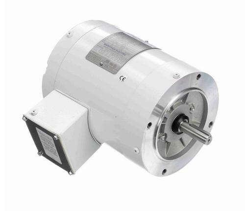 N643 Marathon 3/4 hp 3600 RPM 3-Phase  56C Frame TENV (no base) 208-230/460V Marathon Motor