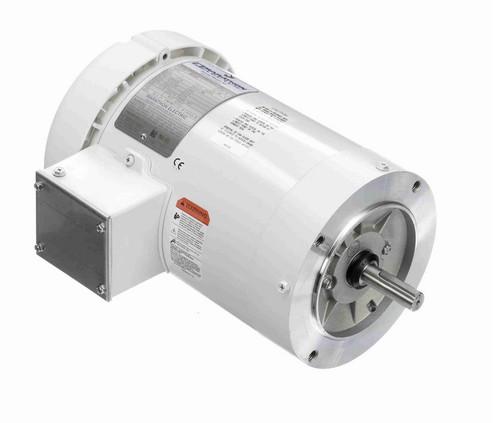 N646A Marathon 1 hp 1800 RPM 3-Phase  56C Frame TEFC (no base) 230/460V Marathon Motor