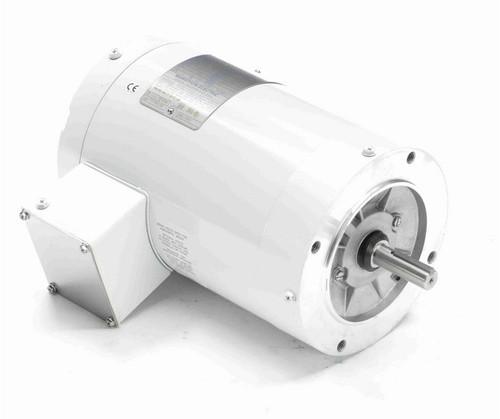 N648 Marathon 1 1/2 hp 3600 RPM 3-Phase  56C Frame TENV (no base) 208-230/460V Marathon Motor