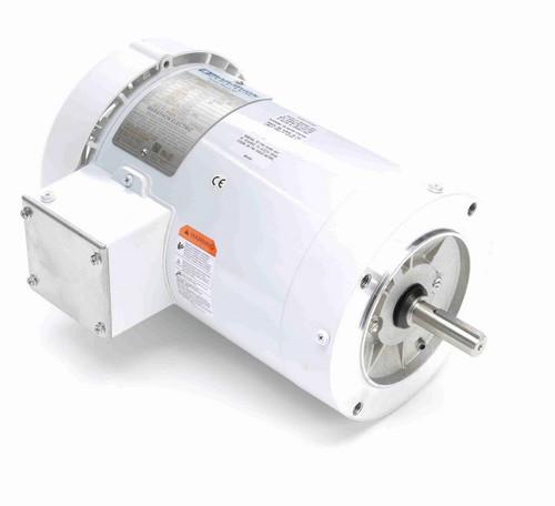 N649A Marathon 1 1/2 hp 1800 RPM 3-Phase 56C Frame TEFC (no base) 230/460V Marathon Motor