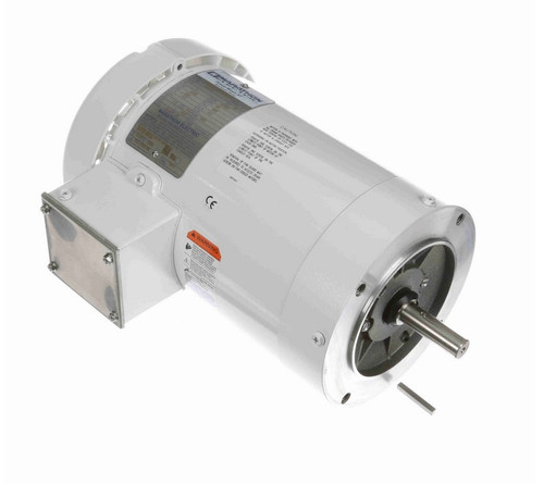 N651A Marathon 2 hp 3600 RPM 3-Phase 56C Frame TEFC (no base) 230/460V Marathon Motor