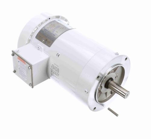 N652A Marathon 2 hp 3600 RPM 3-Phase  145TC Frame TEFC (no base) 208-230/460V Marathon Motor