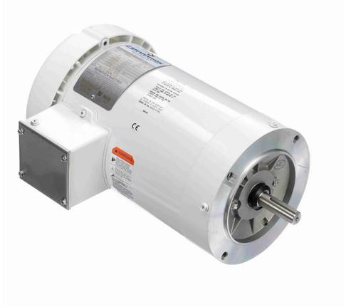 N653A Marathon 2 hp 1800 RPM 3-Phase 56C Frame TEFC (no base) 230/460V Marathon Motor