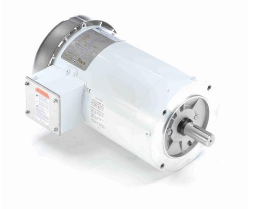 N654B Marathon 2 hp 1800 RPM 3-Phase 145TC Frame TEFC (no base) 230/460V Marathon Motor