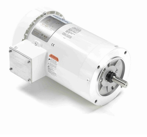 N662A Marathon 3 hp 3600 RPM 3-Phase 56C Frame TEFC (no base) 230/460V Marathon Motor
