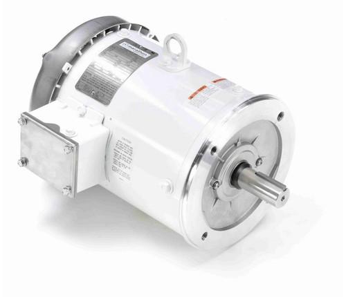 N656C Marathon 3 hp 1800 RPM 3-Phase 182TC Frame TEFC (no base) 230/460V Marathon Motor