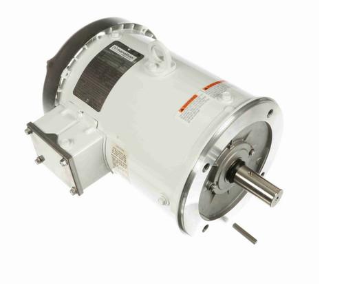 N657C Marathon 5 hp 3600 RPM 3-Phase  184TC Frame TEFC (no base) 230/460V Marathon Motor