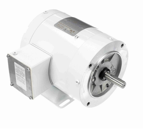 N564 Marathon 1/4 hp 1800 RPM 3-Phase  56C Frame TENV (with base) 208-230/460V Marathon Motor