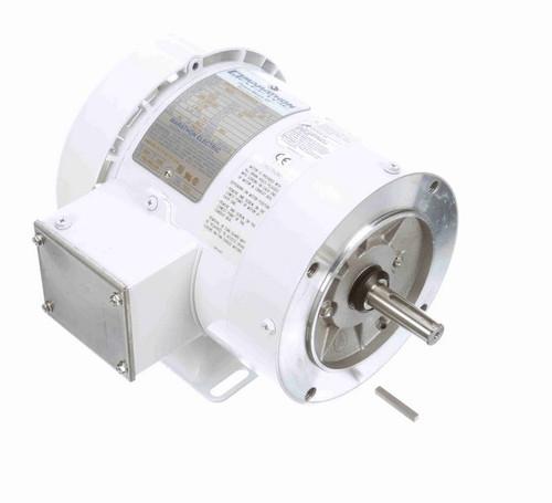 N628 Marathon 1/3 hp 1800 RPM 3-Phase  56C Frame TEFC (with base) 208-230/460V Marathon Motor