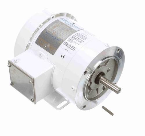 N621 Marathon 1/3 hp 1800 RPM 3-Phase  56C Frame TEFC (with base) 575V Marathon Motor