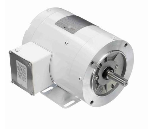 N566 Marathon 1/2 hp 3600 RPM 3-Phase  56C Frame TENV (with base) 208-230/460V Marathon Motor
