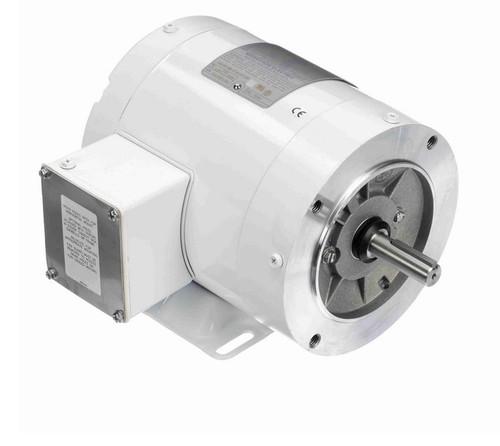 N567 Marathon 1/2 hp 1800 RPM 3-Phase  56C Frame TENV (with base) 208-230/460V Marathon Motor