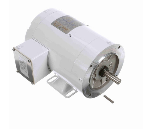N568 Marathon 1/2 hp 1200 RPM 3-Phase  56C Frame TENV (with base) 208-230/460V Marathon Motor