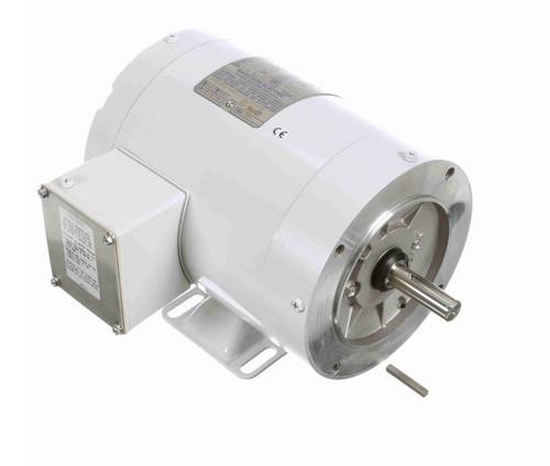 N569 Marathon 3/4 hp 3600 RPM 3-Phase  56C Frame TENV (with base) 208-230/460V Marathon Motor