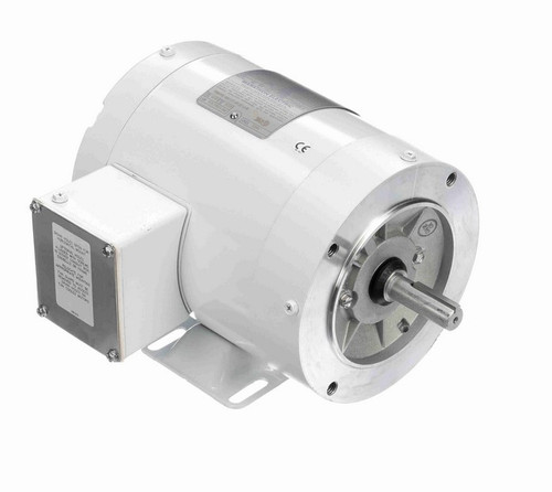 N599 Marathon 3/4 hp 1800 RPM 3-Phase  56C Frame TENV (with base) 208-230/460V Marathon Motor