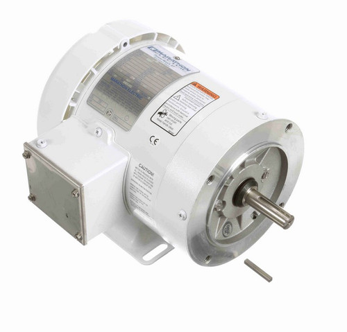 N623 Marathon 3/4 hp 1800 RPM 3-Phase  56C Frame TEFC (with base) 575V Marathon Motor