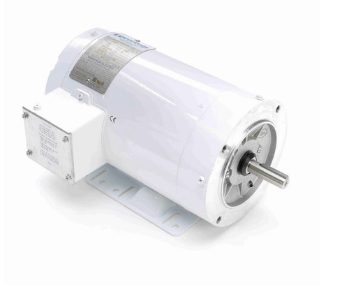 N600 Marathon 3/4 hp 1200 RPM 3-Phase  56C Frame TENV (with base) 208-230/460V Marathon Motor