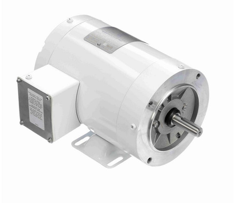 N601 Marathon 1 hp 3600 RPM 3-Phase 56C Frame TENV (with base) 208-230/460V Marathon Motor