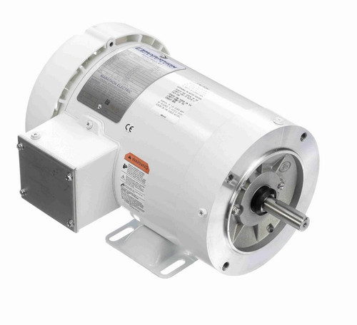 N602A Marathon 1 hp 1800 RPM 3-Phase  56C Frame TEFC (with base) 230/460V Marathon Motor