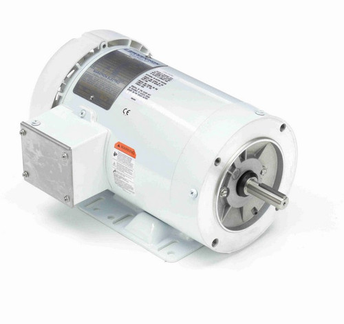 N606A Marathon 1 1/2 hp 1800 RPM 3-Phase 56C Frame TEFC (with base) 230/460V Marathon Motor