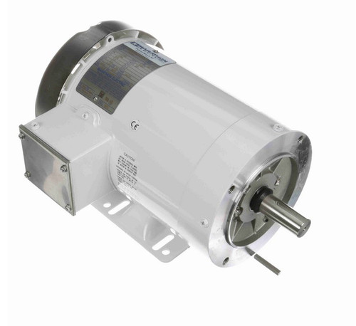 N629A Marathon 1 1/2 hp 1800 RPM 3-Phase 145TC Frame TEFC (with base) 575V Marathon Motor