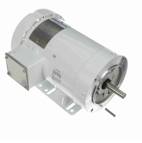 2 hp 3600 RPM 3-Phase 56C Frame TEFC (with base) 230/460V Marathon Motor # N609A