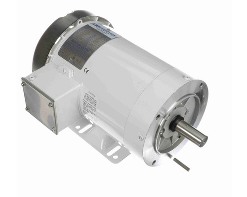 N610A Marathon 2 hp 3600 RPM 3-Phase 145TC Frame TEFC (with base) 230/460V Marathon Motor