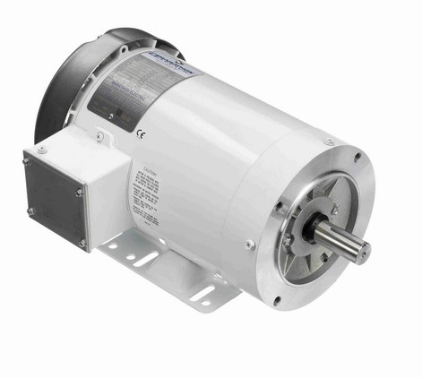 N612A Marathon 2 hp 1800 RPM 3-Phase 145TC Frame TEFC (with base) 208-230/460V Marathon Motor