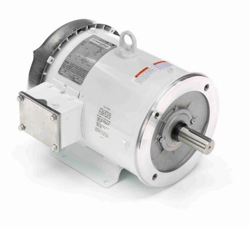 N614B Marathon 3 hp 1800 RPM 3-Phase 182TC Frame TEFC (with base) 230/460V Marathon Motor